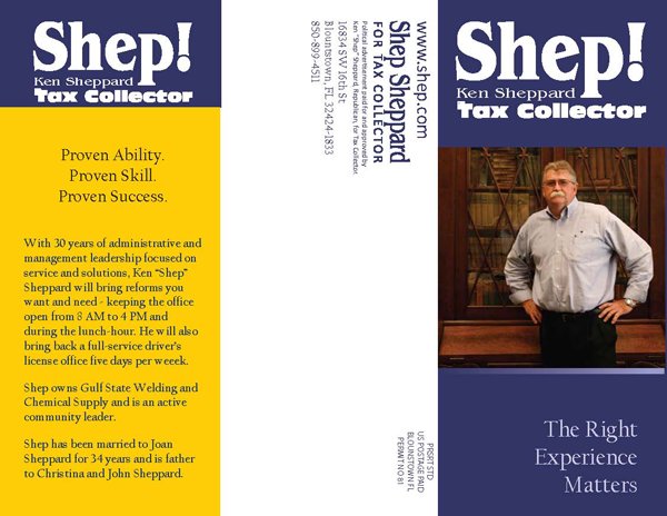 Shep Sheppard for Tax Collector