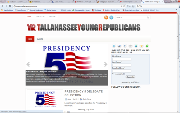 Tallahassee Young Republicans - http://www.tallahasseeyrs.com