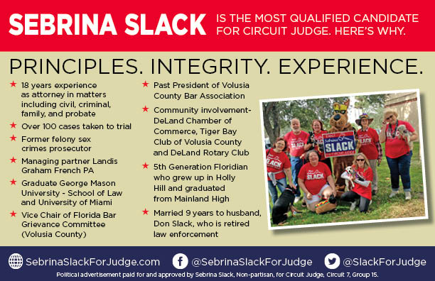 Sebrina Slack for Judge